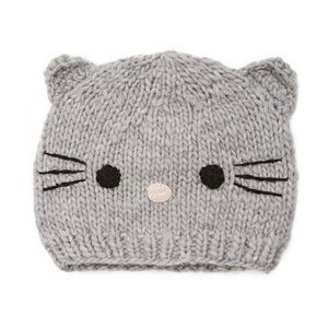 Forever 21 Cat Knit Beanie New